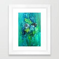 Ever So Green  Framed Art Print