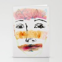 Head Shot #3 Stationery Cards