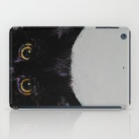 Black Kitten iPad Case