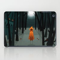 Woods Girl iPad Case