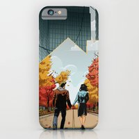iPhone & iPod Case featuring Seeking Suburbia by Steven P Hughes
