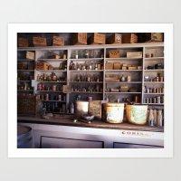 Ghost Store Art Print