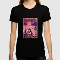 Portia - Shakespeare's M… Womens Fitted Tee Black SMALL