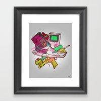 RETROBOY Framed Art Print