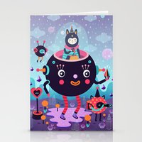 Amigos Cósmicos Stationery Cards