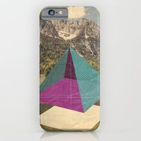 iPhone & iPod Case featuring piramidi&nuvole by Marco Puccini