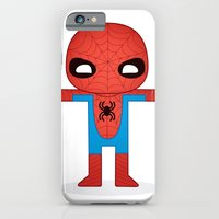 iPhone & iPod Case featuring SPIDER MAN ROBOTIC by We are Robotic