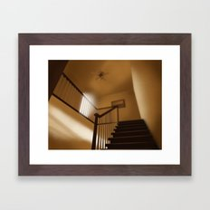 Palmer stairs Framed Art Print