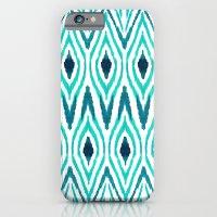 Ikat Jade iPhone 6 Slim Case