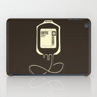 Coffee Transfusion iPad Case
