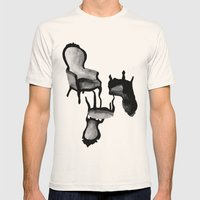 CHAIRS Mens Fitted Tee Natural SMALL
