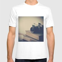 Vintage Nikon Camera And… Mens Fitted Tee White SMALL