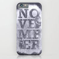 November Rain iPhone 6 Slim Case