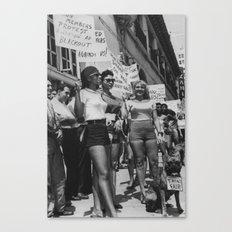 Jennie Lee & Exotic Dancers League Protestors,