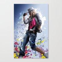 HipHop1 Canvas Print