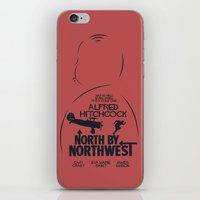 North by Northwest - Hitchcock Movie Poster iPhone & iPod Skin