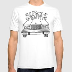 BEASTIE BOYS Y'ALL White Mens Fitted Tee SMALL