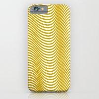 Golden Waves iPhone 6 Slim Case