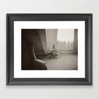The Quiet Room Framed Art Print
