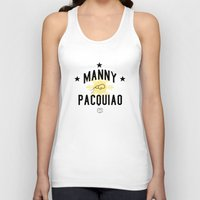 Manny Pacquiao Training Light Unisex Tank Top