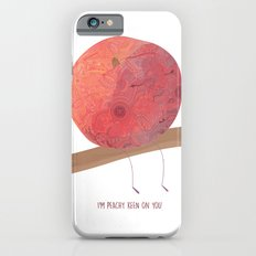 I'm peachy keen on you Slim Case iPhone 6s