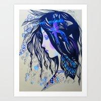 Ruben Art Print