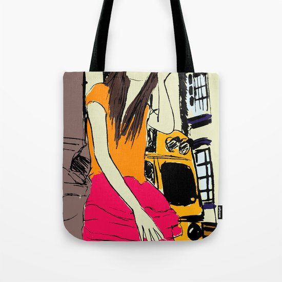 miss the bus Tote Bag