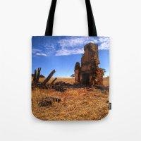 Old Ruin Tote Bag