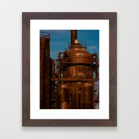Industry Abandoned Framed Art Print