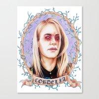 Pluck Canvas Print