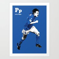 P Is For Pippo Art Print