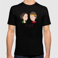 Juno & Paulie Mens Fitted Tee Black SMALL