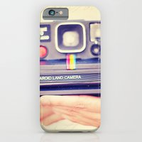 iPhone & iPod Case featuring Polaroid by Irene Miravete