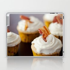 Bacon Maple Cupcake Laptop & iPad Skin