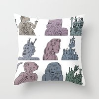 oo Throw Pillow