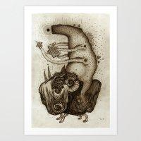 L O S T  Art Print