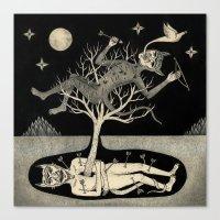No Bad Deed Goes Unpunis… Canvas Print