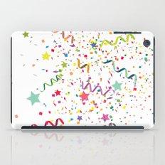 Wishes as Confetti / New Years Confetti. iPad Case