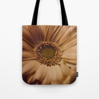 Antique Daisy Tote Bag