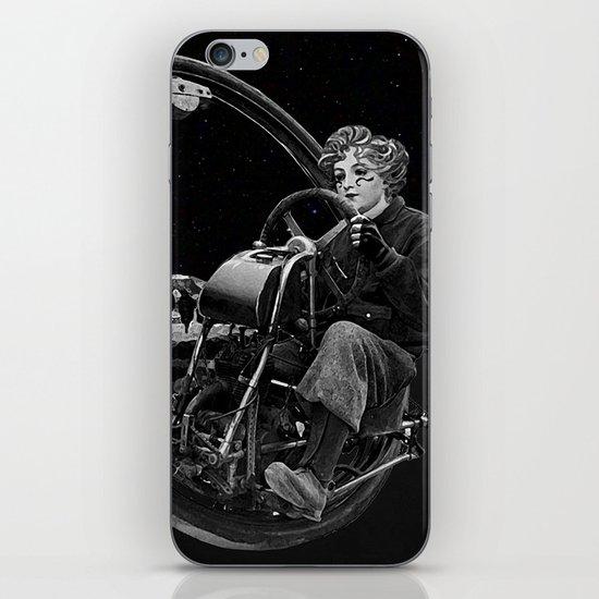 Getaway - Dieselpunk Monowheel iPhone & iPod Skin