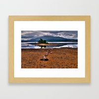 Loch Shiel Framed Art Print