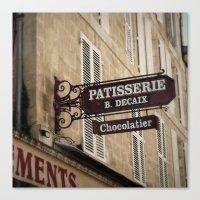 Dreams of Chocolate Canvas Print