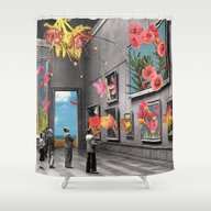Shower Curtain featuring Natural History Museum by Eugenia Loli