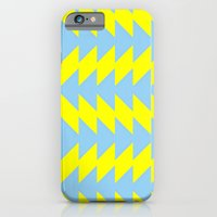 iPhone & iPod Case featuring Van Zanen Yellow & Blue by Stoflab