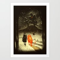 The Land Of Oz Art Print