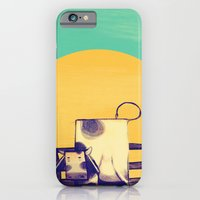 iPhone & iPod Case featuring Cow Sunset by ErDavid