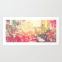 Street of London Art Print