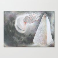 Discourse Canvas Print