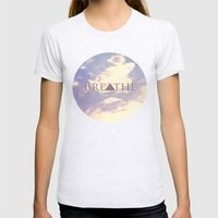 Breathe Womens Fitted Tee Ash Grey SMALL