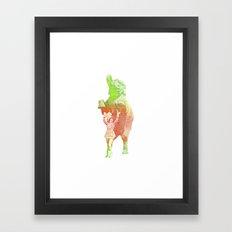 Bravo Framed Art Print